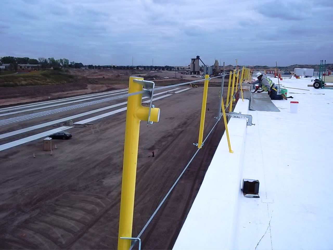 Turbo Cable Fall Protection System Steve Garlock Equipment